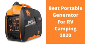 Best Portable Generator For RV Camping