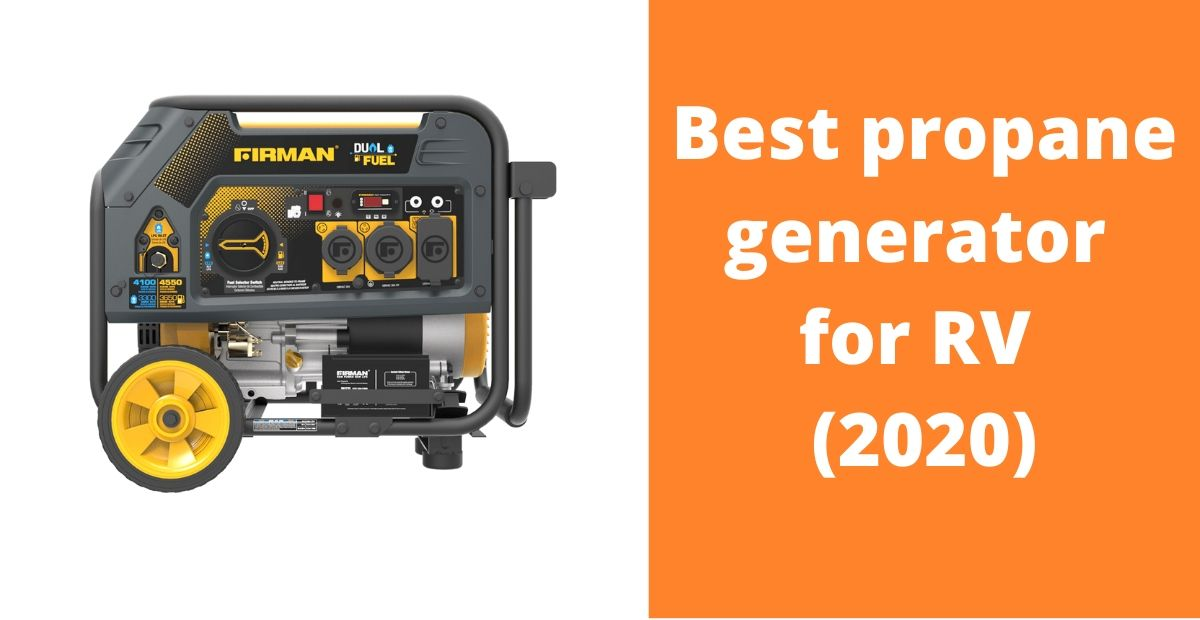 Best propane generator for RV