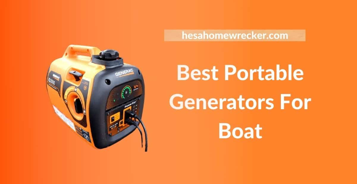 Best Portable Generators For Boat
